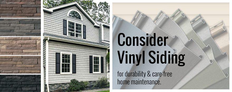 Consider Vinyl Siding