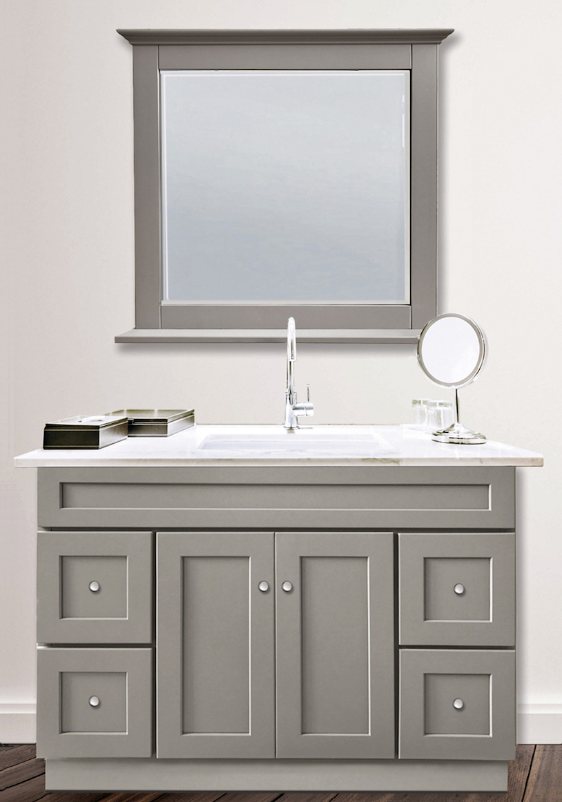 Stone Harbor Gray Bathroom Vanity Builders Surplus