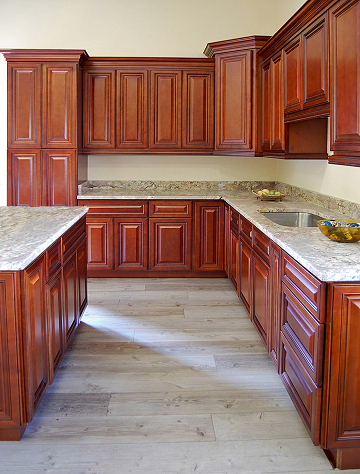 Grand Reserve Cherry Kitchen Cabinets Builders Surplus