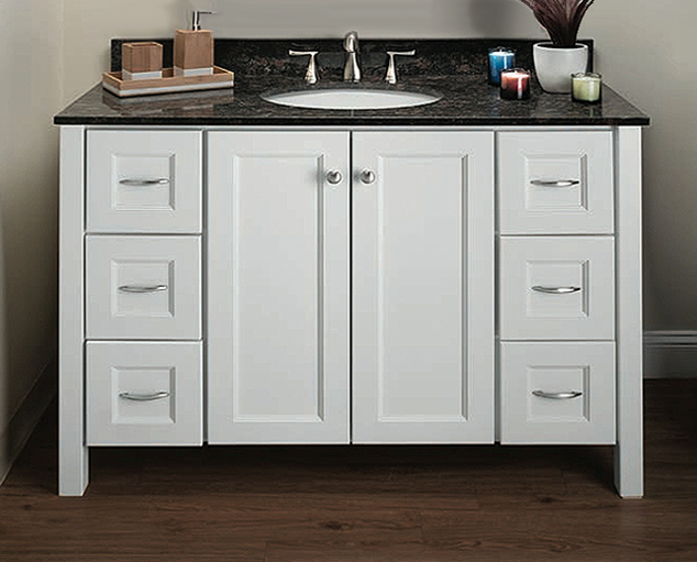 Lancaster 1 Bath Vanity - Builders Surplus