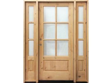Alder 6 Lite Marginal 1-Panel Door $1,495