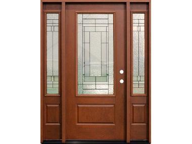 Prefinished Fiberglass Exterior Doors