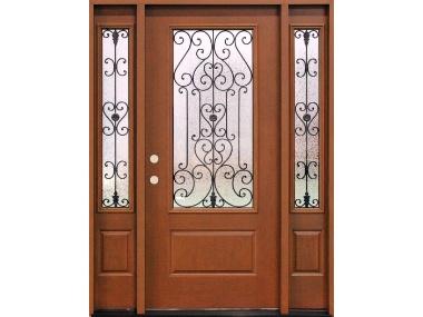 Essex Decorative Iron Scroll Door $1,529