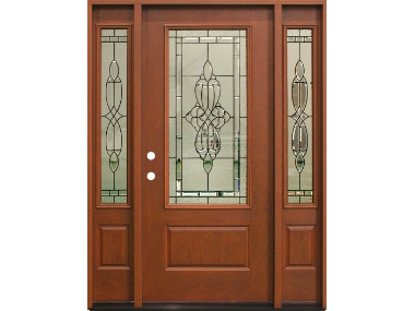 Freeport Decorative Door With Sidelites 1 399 Builders