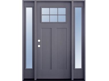 Craftsman 6-Lite Grey Door $1,529