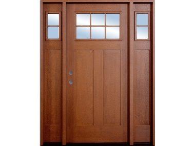 Craftsman 6-Lite Fiberglass Door $1,529