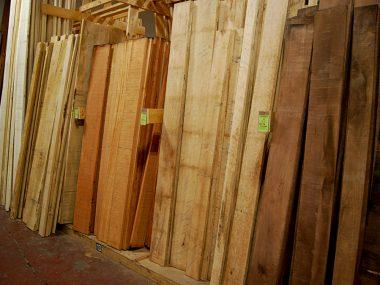 Hardwood Boards Rough Cut