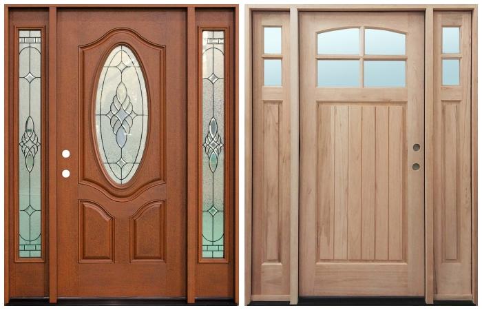 Prefinished vs unfinished doors