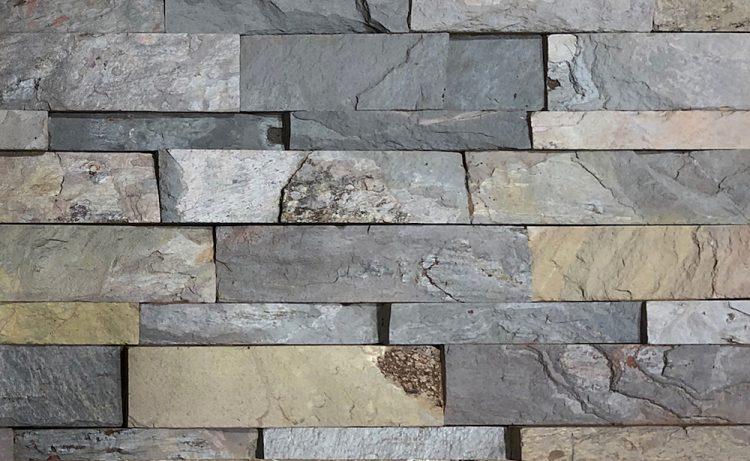 Spice Craft Splitface slate stacked ledger stone