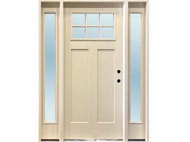 Craftsman 6-Lite Cream Door $1,489