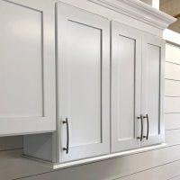 Arcadia White wall cabinets