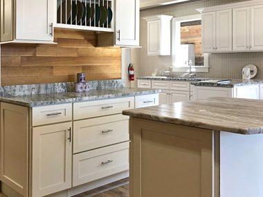 Arcadia Linen Kitchen Cabinets