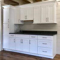Arcadia White cabinets