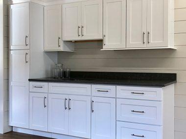 Arcadia White Kitchen Cabinets
