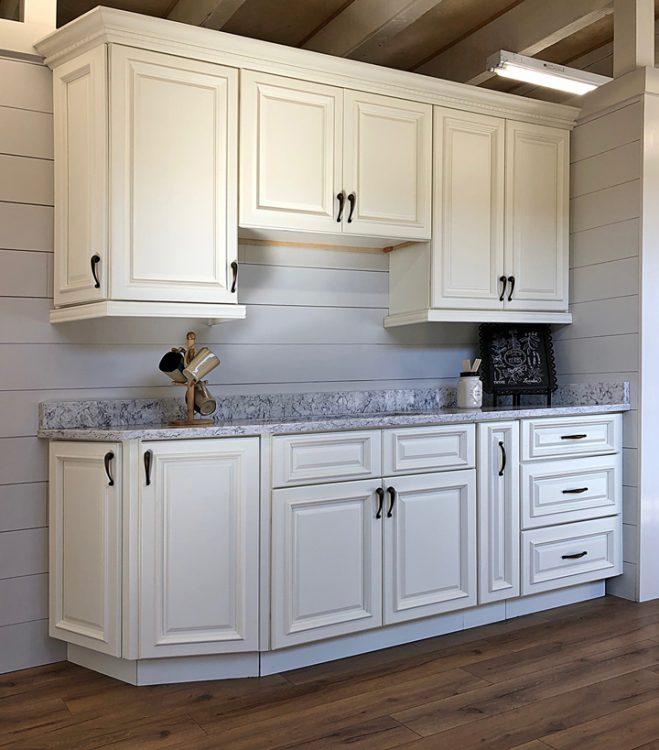 Nantucket Linen kitchen cabinets