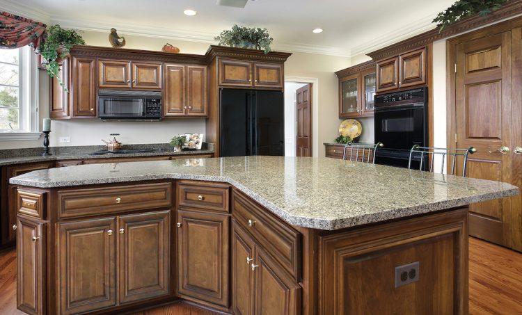 Sedona Chestnut kitchen cabinets