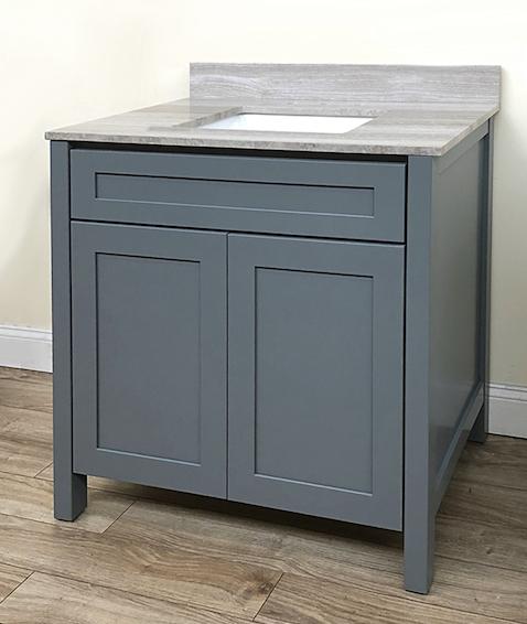 Portland Grey bath vanity