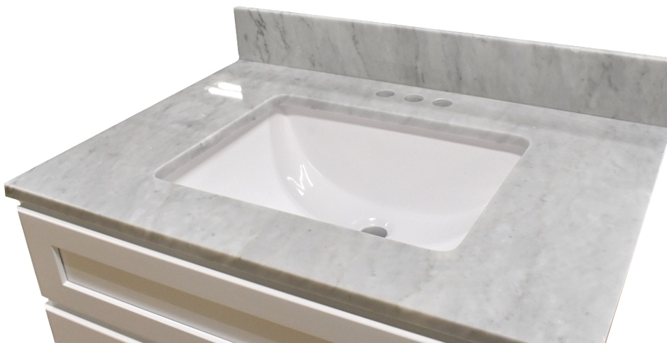 Marble Bathroom Vanity Tops - Builders Surplus