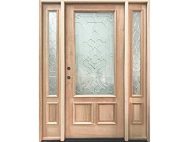 Mahogany Square Top Decorative Door $1,595