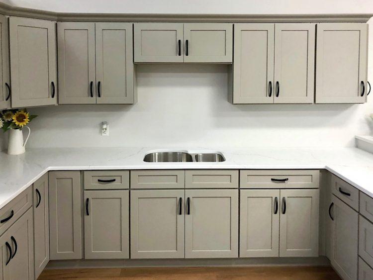 Stone Harbor Gray Kitchen Cabinets - Builders Surplus