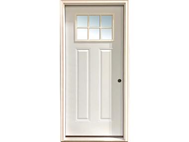 6 Lite Craftsman Door