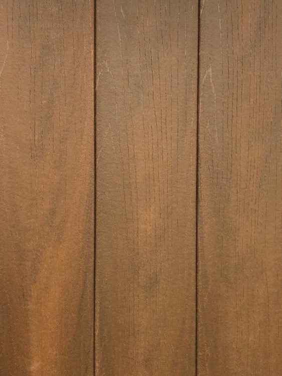 Northern Hickory composite decking