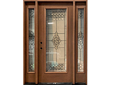 Providence Decorative Door With Sidelites $1,529
