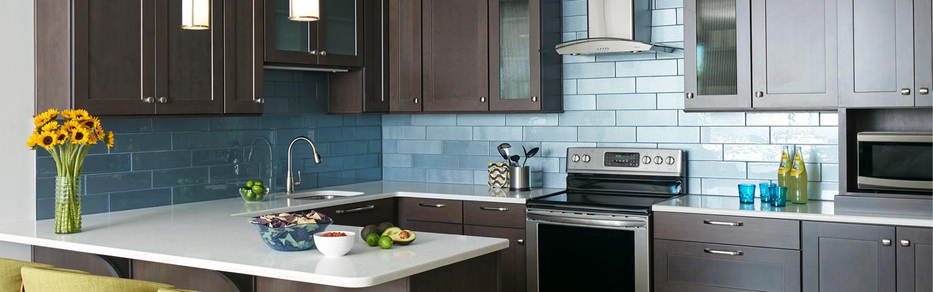 Summerfield kitchen by Marsh Cabinets