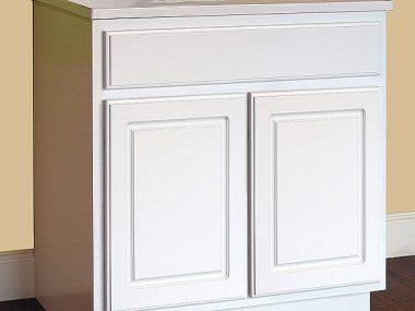 York White Bathroom Vanity