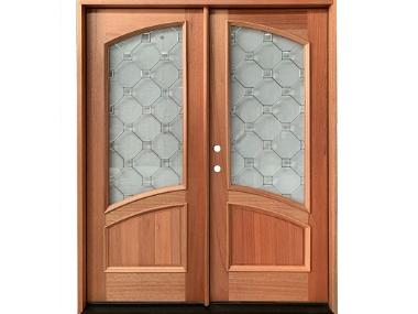 Prefinished Wood Exterior Doors