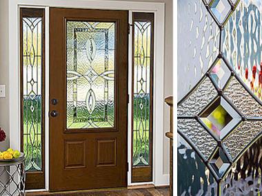 Western Reflections Doorglass